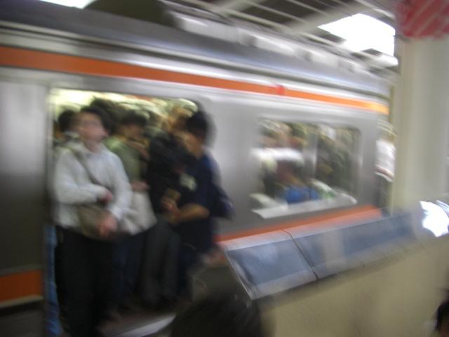 土曜日の武蔵野線・京葉線